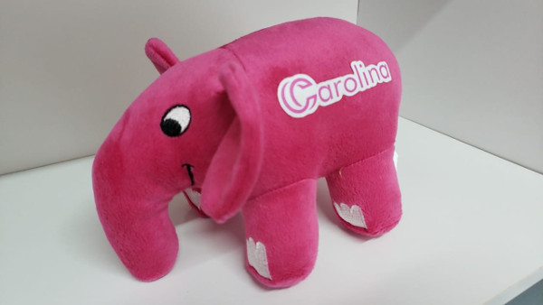 Personalized PHP Elephant with a custom logo