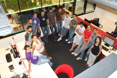 Irontec team that worked on the project of PHP For Android phones