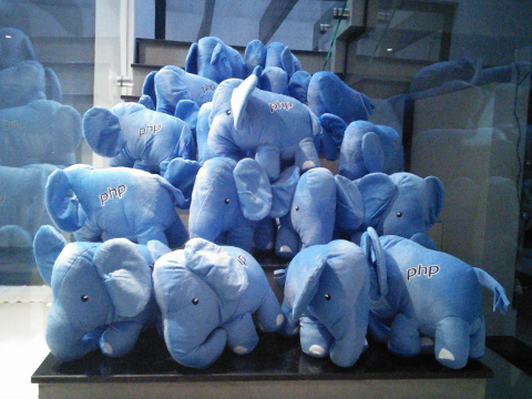 Picture of many elePHPants