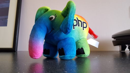 PHP Diversity Rainbow elePHPant