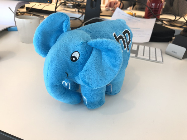 PHP ElePHPant received by Teye Heinmans on March 5, 2020