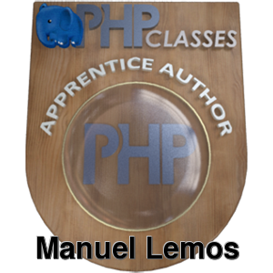 PHP Master level example badge