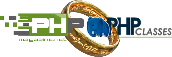 PHP Classes and PHPMagazine.net Partnership (Ring picture is from Peter J. Yost https://commons.wikimedia.org/wiki/User:Peter_J._Yost)