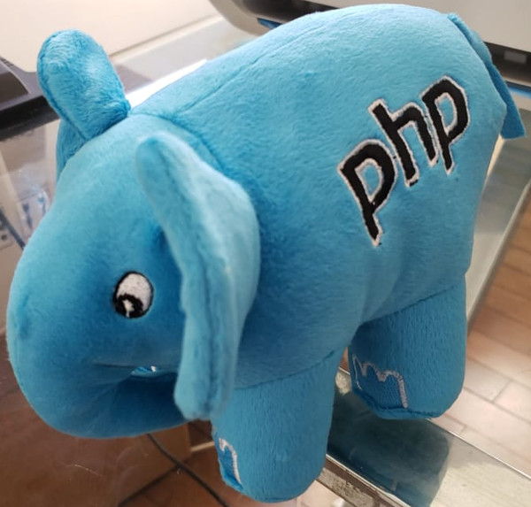 Personalized PHP elePHPant PHP side