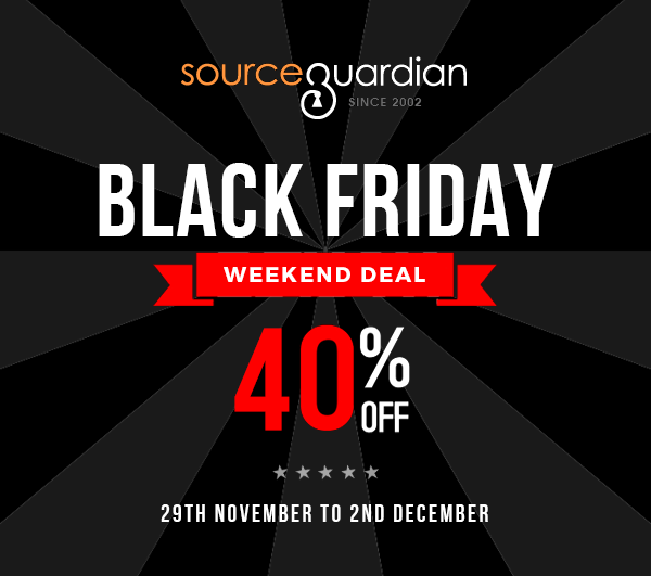 Source Guardian Black Friday 2019