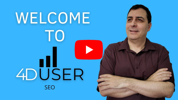 Welcome 4D User SEO YouTube Channel