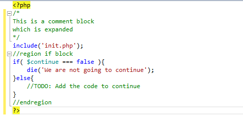 code highlighting