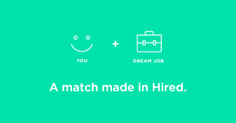 Hired matched jobs