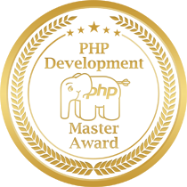 PHP Development Master Award logo