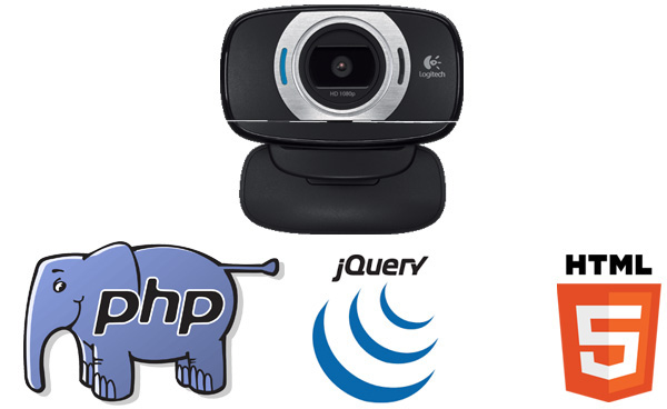 PHP Webcam Capture Image Database PHP Script to take Photo Picture from Camera